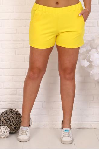 Шорты женские  41642  Жёлтый