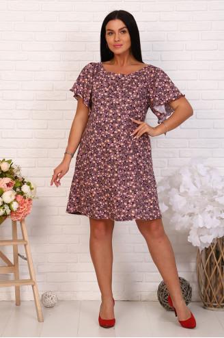 Платье женское 03342  Какао