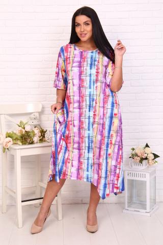 Платье женское 12553  Розовый