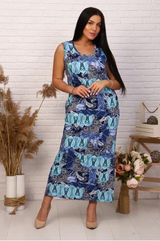 Сарафан женский  30553  Синий