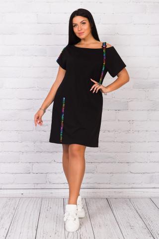 Туника женская  05252  Чёрный