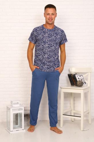 Костюм мужской с брюками ТУМАН  Индиго