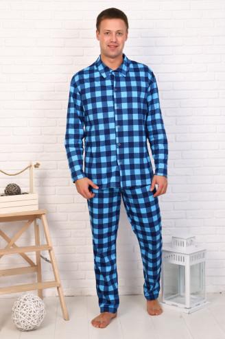 Костюм мужской с брюками  КРЕАТИВ  Синий