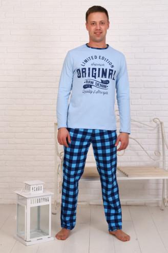 Костюм мужской с брюками  ФЭНТАЗИ  Голубой