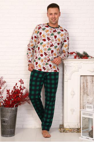 Костюм мужской с брюками  29541  Зелёный
